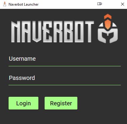 Naver Bot launcher